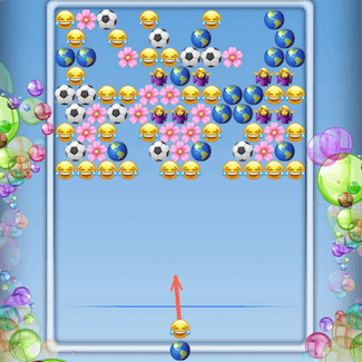 Bubble Shooter Emoji - The Best Bubble Shooter Game 😍